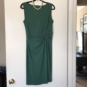 Green Ann Taylor dress